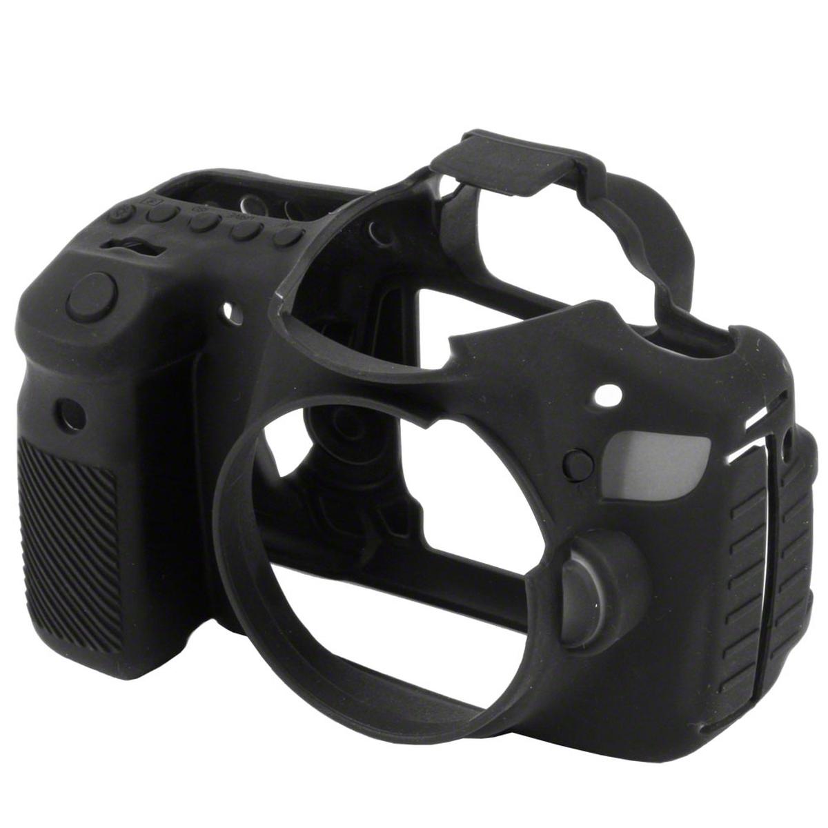 Walimex pro easycover funda protectora de silicona para Canon 60d