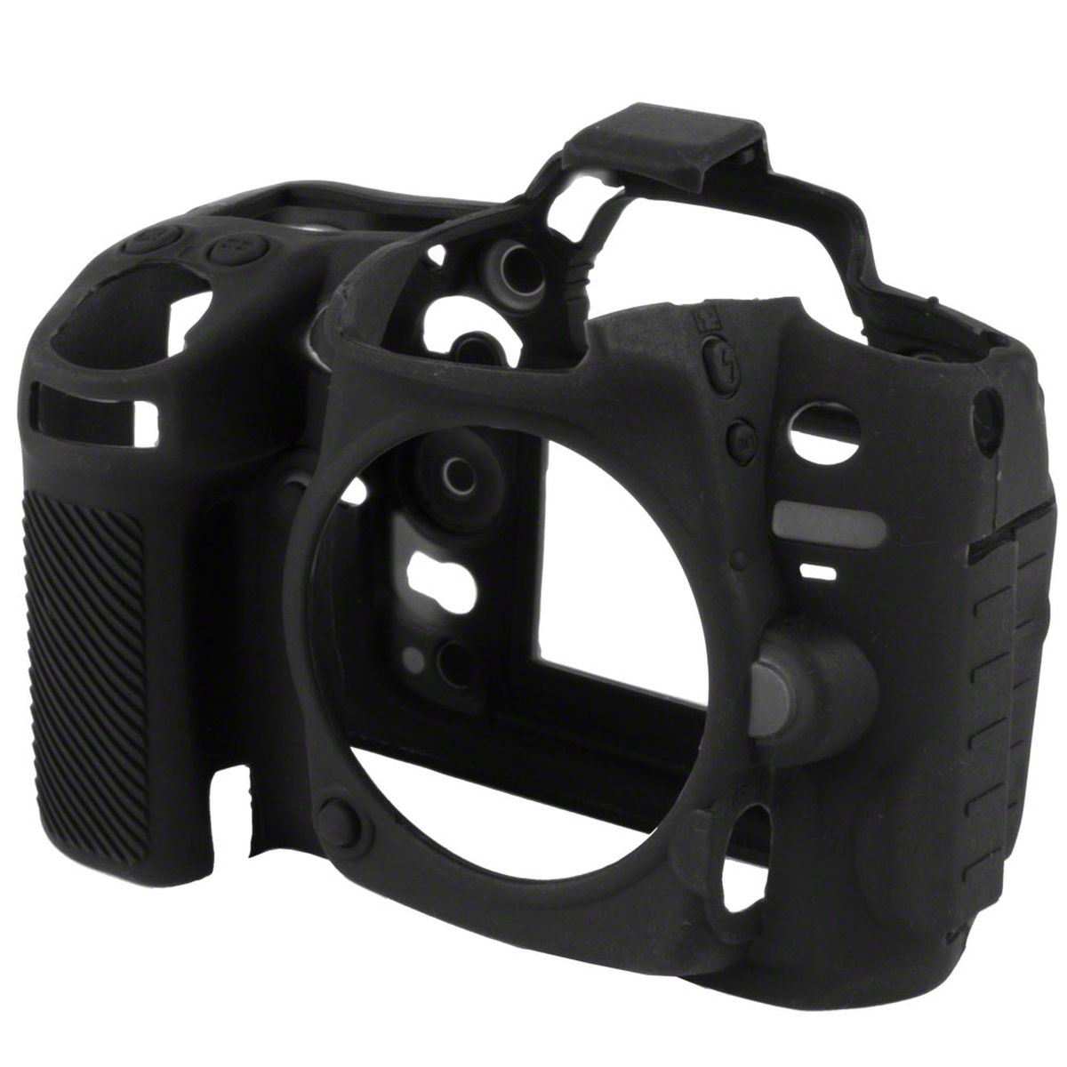easyCover Silikon Schutzhülle für Nikon D7000