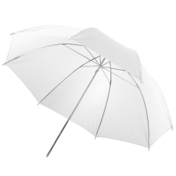 walimex Translucent Umbrella white, 123cm
