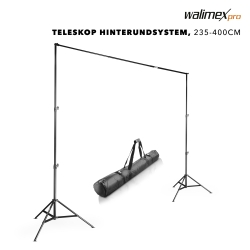 walimex pro TELE Background System, 225-400cm