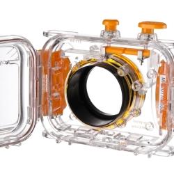 walimex Unterwassergehäuse 40m, orange