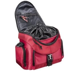 mantona premium Fototasche rot/schwarz