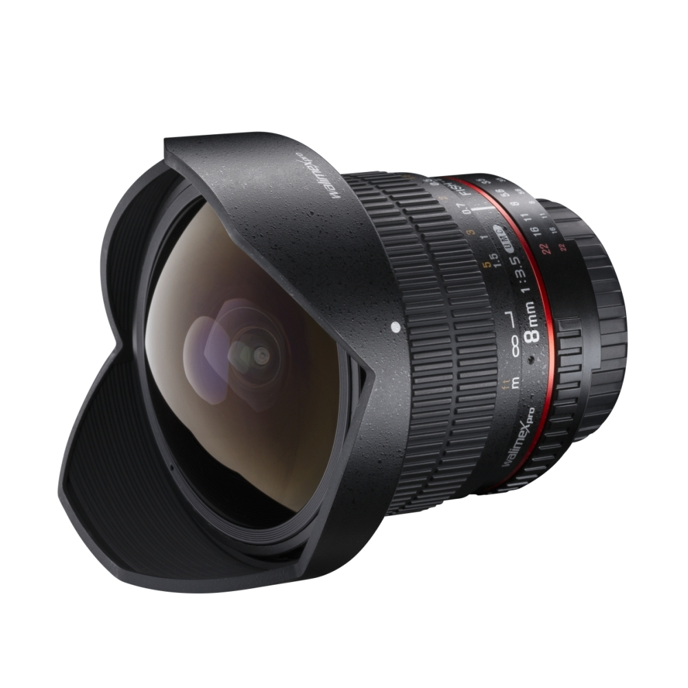 walimex pro Fish-Eye Lens 8/3,5 for Canon AF Cameras | eBay