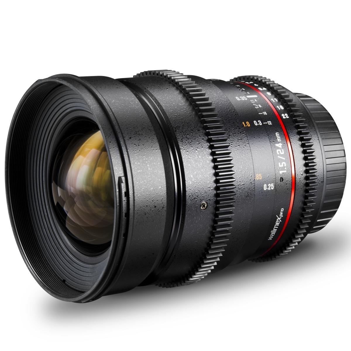 walimex pro 24/1,5 Superweitwinkel Objektiv VDSLR für Canon EF | eBay