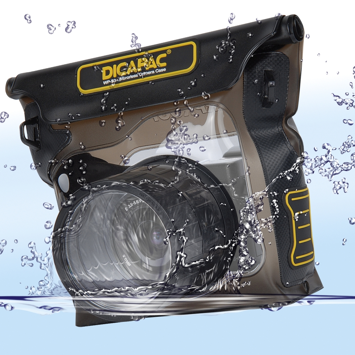 DiCAPac WP-S3 Outdoor-/ Unterwassertasche